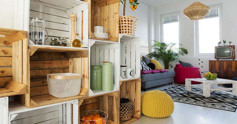 How to Make a DIY Crate Bookshelf